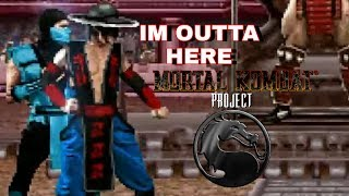 KUNG LAO HAS LEFT THE BUILDING - Mortal Kombat Tag Project - Kung Lao & Sub-Zero Arcade Ladder