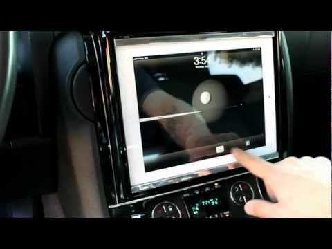 Motorized iPad Dash install, by Tom Miller from Musicar Northwest