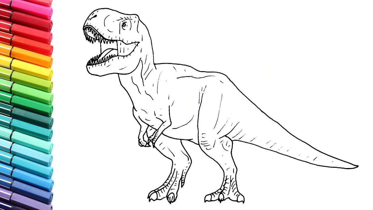 It is an image of Modest jurassic world velociraptor coloring pages