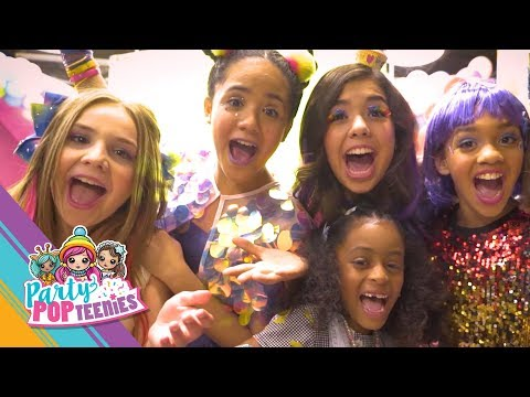 PARTY POPTEENIES™ | Behind The Scenes -