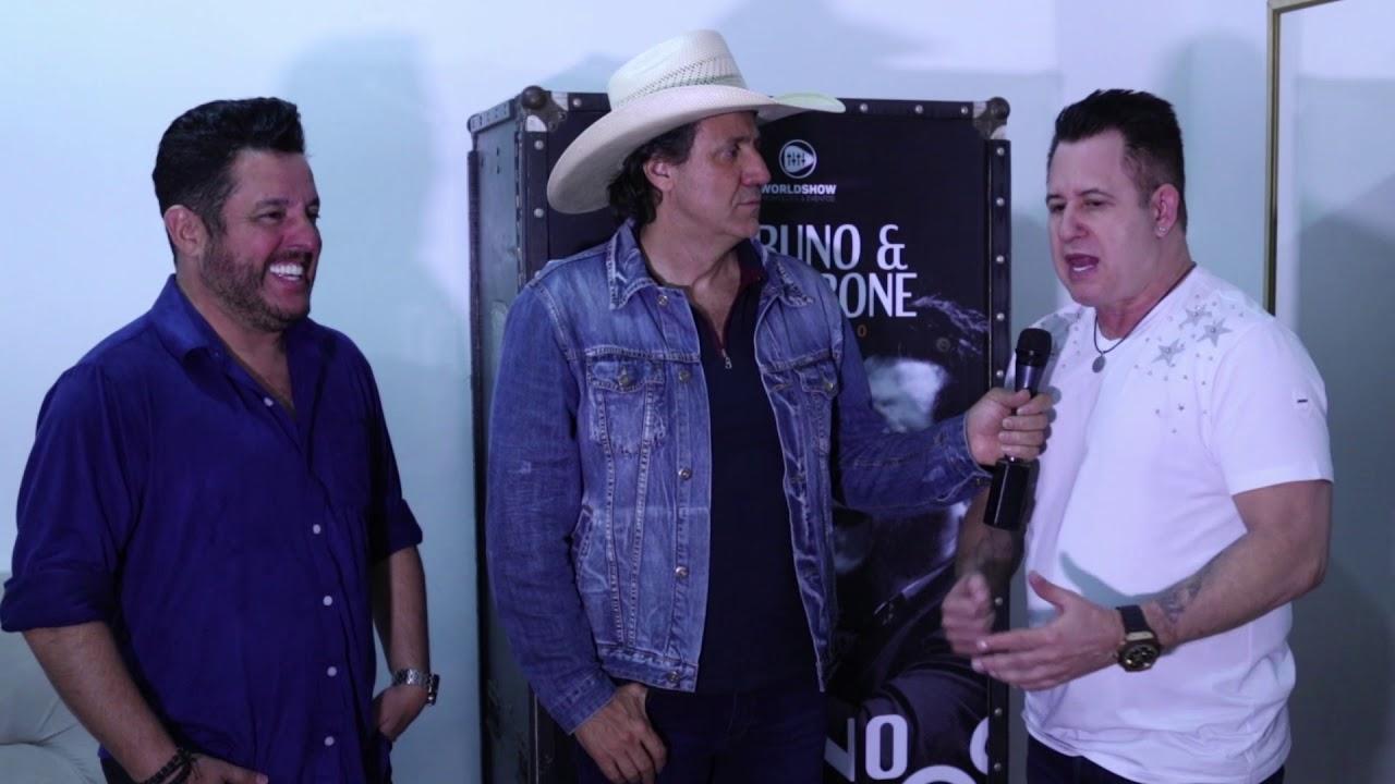 Entrevista com Bruno & Marrone - Festa do Peão de Barretos 2018.