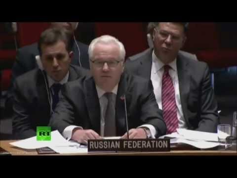 Чуркин: Если Москва хотела черные ящики с малайзийского лайнера, то почему они в Лондоне?
