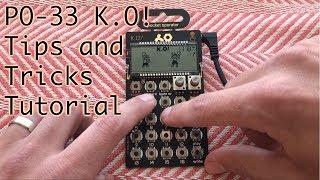 PO-33 K.O. - Tips and Tricks Tutorial