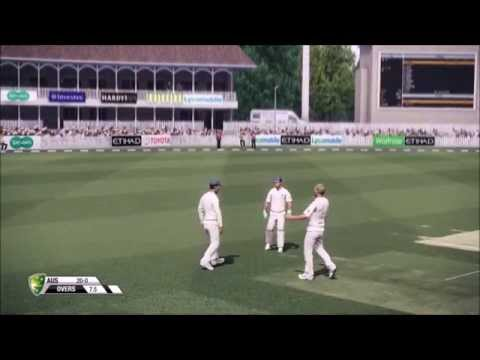 Don Bradman Cricket 14 - England Vs. Australia - Day 1, Morning Session