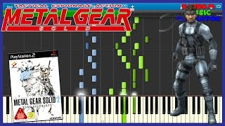 Main Theme - Metal Gear Solid 2: Sons of Liberty - Piano Tutorial [Synthesia] メタルギアソリッド2 サンズ・オブ・リバティ thumbnail