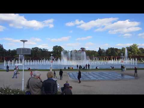 Fountain in Hala Ludowa (Centennial Hall in Wroclaw, Poland)