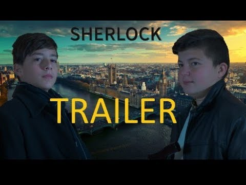 """Sherlock - A Study in Pink""  -  Foreign Language School Movie Trailer in 4k"