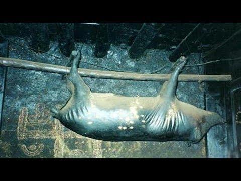 Lợn treo trên xà nhà suốt 30 năm đến 'đen xì' như cục than, nhưng dân địa phương đều coi là của báu