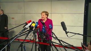 Union und SPD beginnen Sondierungsgespräche