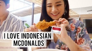 INDONESIAN MCDONALDS IS THE BEST OMG