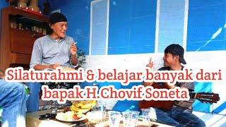 Download Mp3 Alhamdulillah bisa bersilaturahmi ke bapak H Chovif lagu tak berdaya soneta belajar gendang