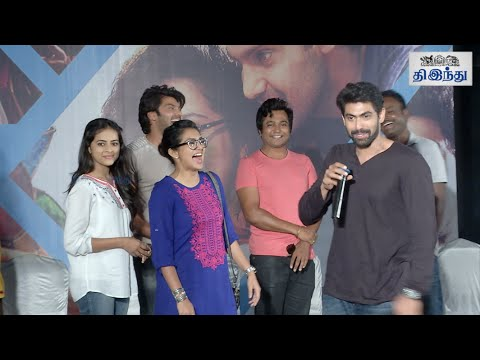 Fun moments in Bangalore Natkal Press Meet   Tamil The Hindu
