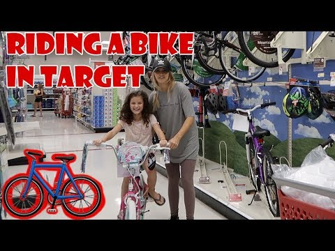 Learning to Ride a Bike in Target 🚲 (WK 345.2) | Bratayley