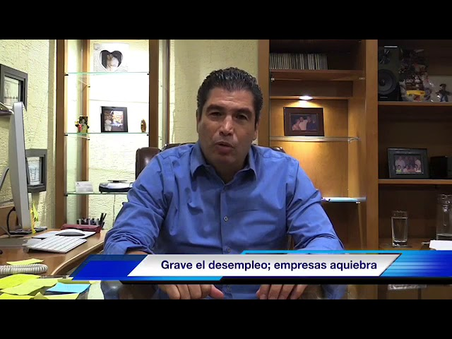 Preocupa desempleo en Xalapa: David Velasco