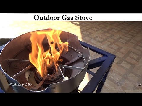 Thai Street Food vendor style propane gas stove, Live and learn.