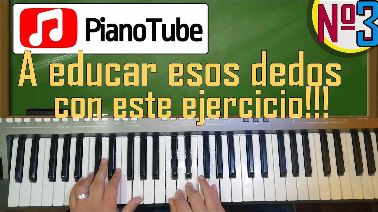 PIANOTUBE #3: El primer Y MÁS IMPORTANTE ejercicio de piano que DEBES APRENDER!!!