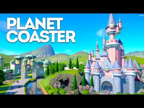 Planet Coaster Creations : THE DISNEYLAND PARIS PARK?!