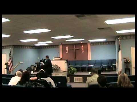 April 2, 2013 REVIVAL DAY 2 BRO JONATHAN ASHE VIDEO BY TIM HIATT