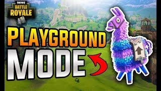 Fortnite PlayGround: Against Sean M, Justin, & Joseph(Joseph Thinks I'm A Hacker!)
