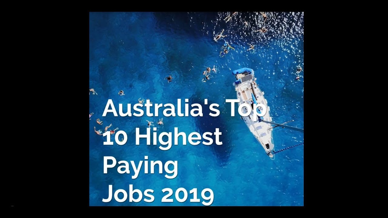 The jobs paying the highest salaries in Australia | Michael Page
