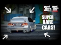 "GTA 5 - ""FREE SECRET AND VERY RARE CAR LOCATIONS""  CRAZY HIDDEN CARS IN GTA 5!!"