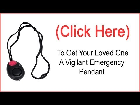 Personal Panic Alarm (Is Your Loved One Safe?)