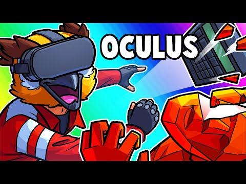 Oculus Quest Funny Moments - The Very First Time in VR!
