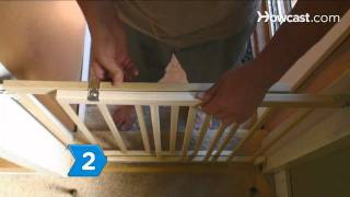 How To Install Hardware-mounted Baby Gates