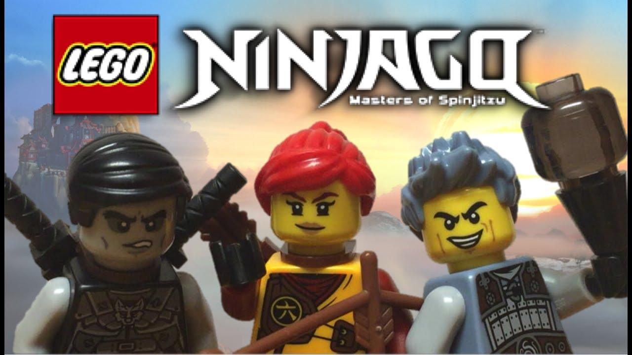 Lego Ninjago: Elemental Masters SKYLOR, ASH, SHADE 3-Pack ...