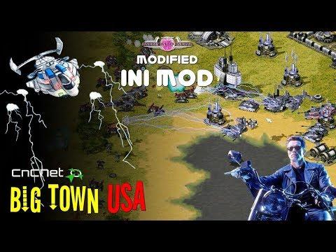 C&C Mental Omega INI MOD | 1 Vs 1 - Big Town USA