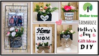 4 Dollar Tree DIYS | Farmhouse Home Decor | Mother's Day Gift Ideas |2020