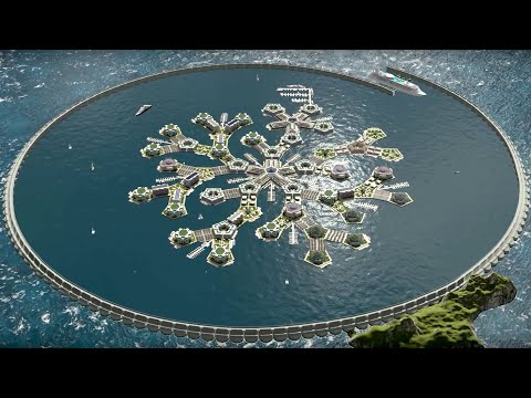 Floating libertarian city coming soon to French Polynesia; Floating nuclear platform - Compilation