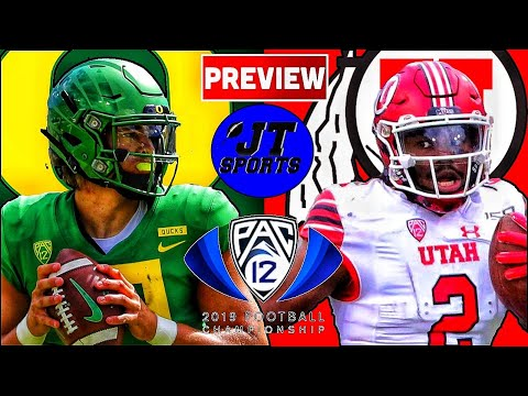 Utah Vs Oregon Preview & Prediction | PAC-12 Championship | College Football | CFB