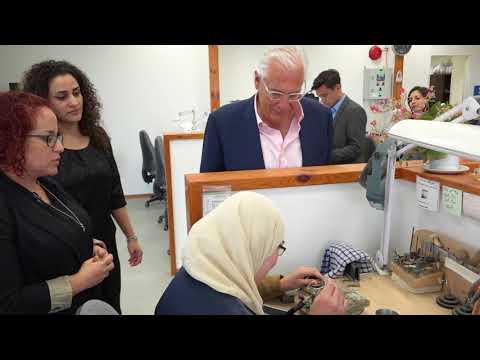 Ambassador David Friedman Visits Nazareth, April 25, 2018