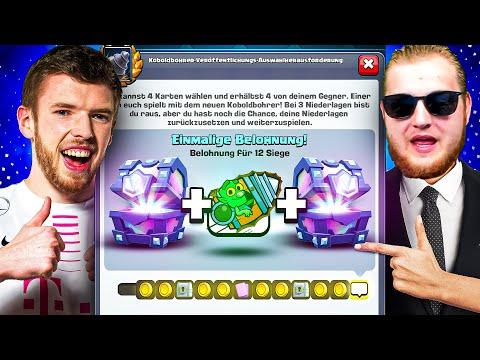 😨⚙️NEUE KOBOLDBOHRER CHALLENGE im TRYMACS F2P PROJEKT...   Tipps und Tricks!   Clash Royale Deutsch