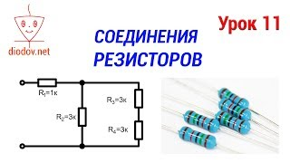 All methods of connecting resistors