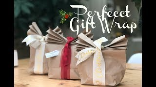 CHRISTMAS WRAPPING HACKS | HOW TO WRAP THE PERFECT PRESENT | KERRY WHELPDALE