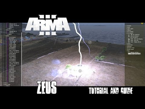 Zeus Overview - ArmA 3 Tutorial and Guide