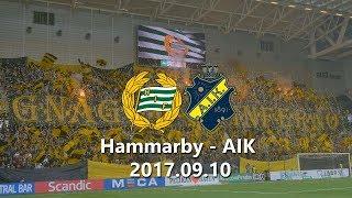Hammarby - AIK 1-1 (2017.09.10) Derby