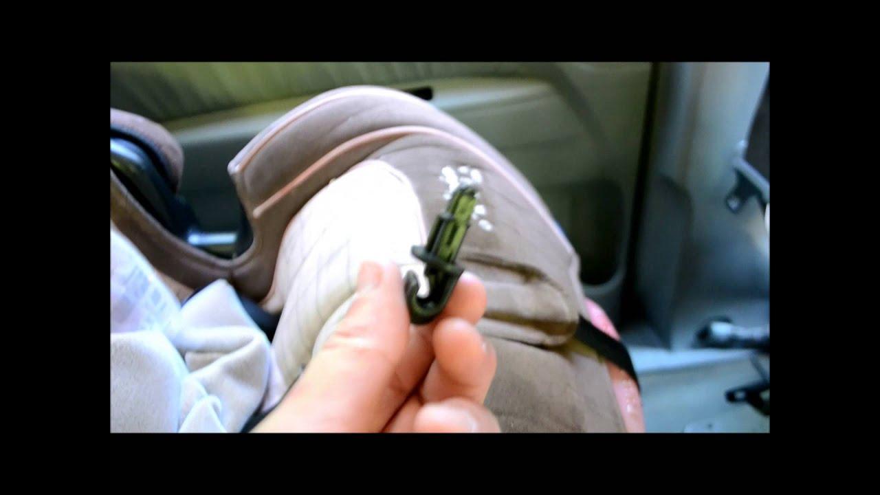 2005 Honda Odyssey Sliding Door Sunshade Clip Replacement Youtube