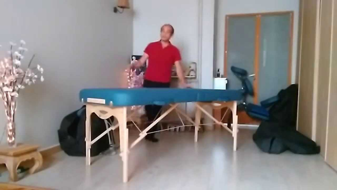 Table De Massage Earthlite Youtube