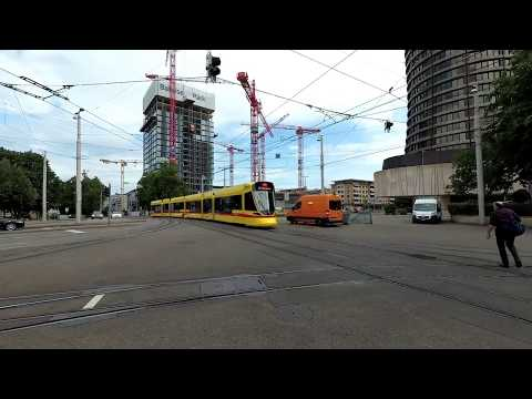 Trams in Basel