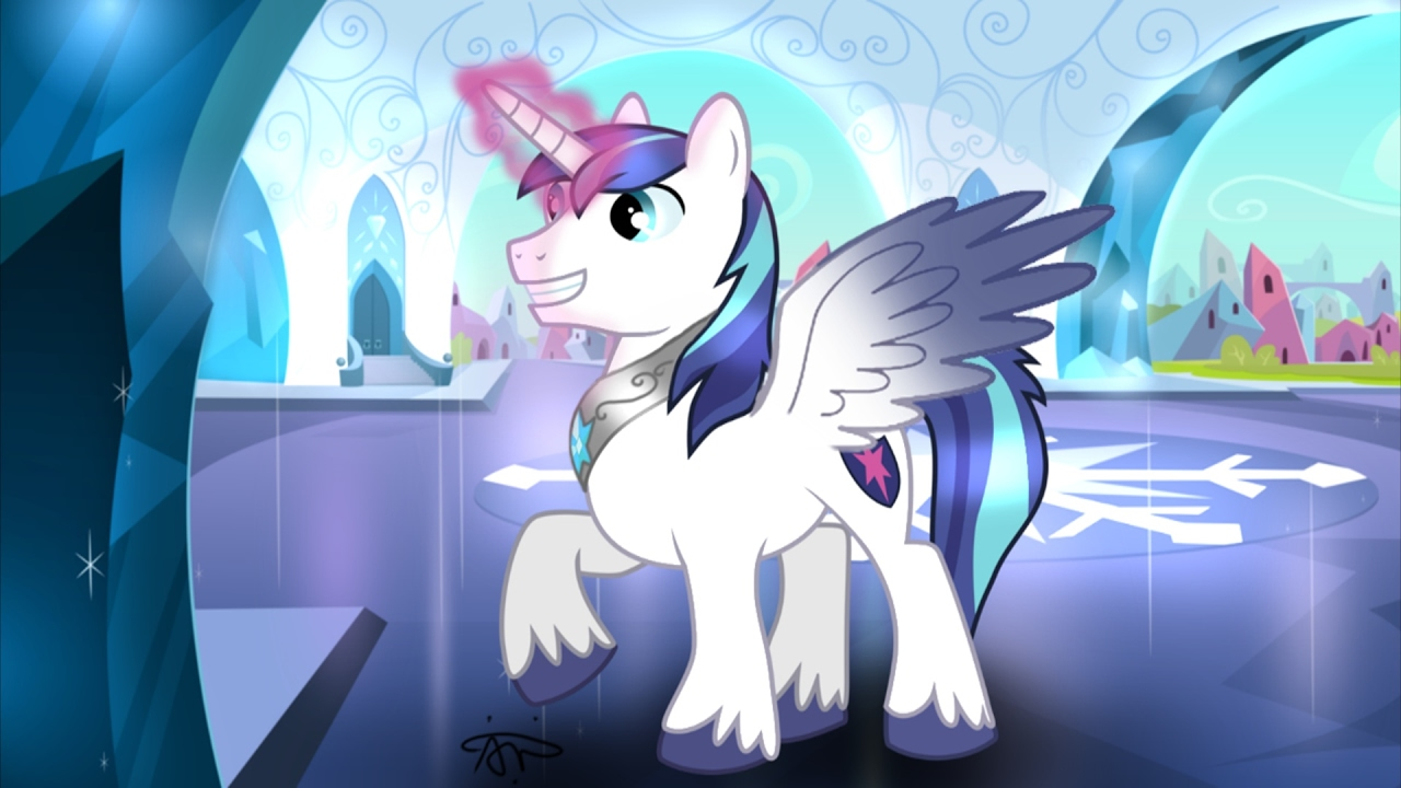 MLP WHY IS SHINING ARMOR NOT AN ALICORN