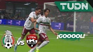 Golazo de JJ Macías | Mexico 1 - 0 Trinidad and Tobago | Amistosos - Internacional | TUDN