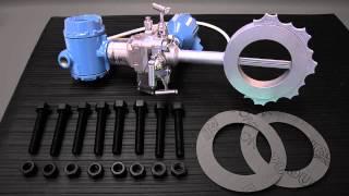 Instalación del caudalímetro compacto Annubar de Rosemount