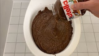 Will it Flush? - Nutella