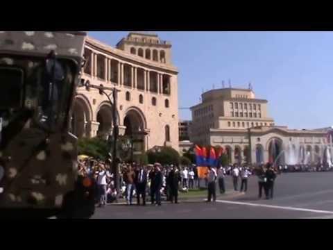 Юбилейный военный парад в Ереване