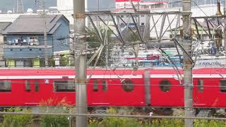 甲種輸送東京メトロ丸ノ内線2000系EF65 2095静岡貨物基地発車