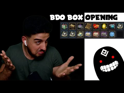 BDO Box Opening | Opening 118 Different Boxes (Dark Rift, Vell) - Wakayashi