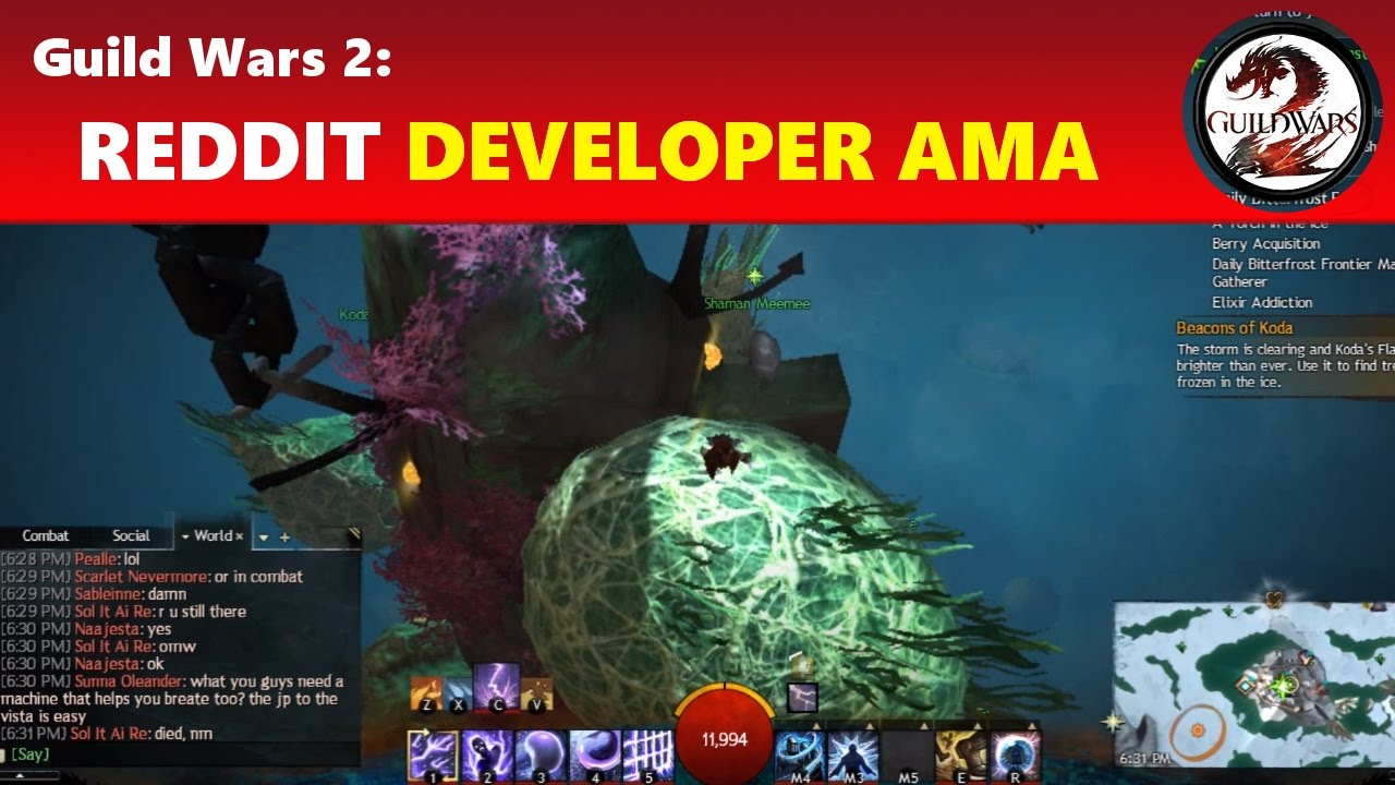 Guild Wars 2: Developer AMA Featuring Black Lion Chest Update & Possible  New Leather Farming?